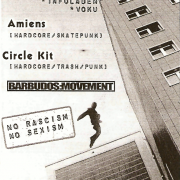 Flyer für den Livetresen am 2. Februar 2007