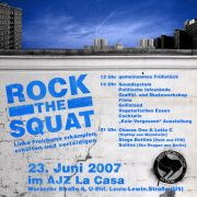 Plakat zum 23. Juni 2007