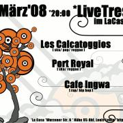 Flyer zum 7. März 2008