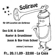 Flyer zum 20. November 2009