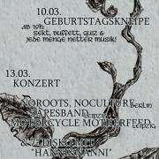 Flyer zur La Casa-Geburtstagswoche 2010