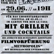 Flyer zum 29. Juni 2011