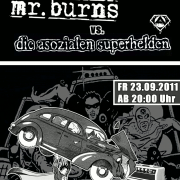 Flyer zum 23. September 2011