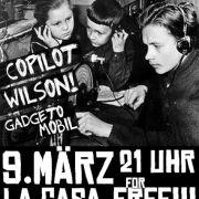 Flyer zum Konzert am 9. März 2012