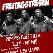 Flyer zur Party am 8.3.2013