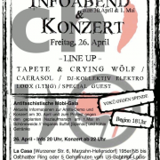 Flyer zum 26. April 2013