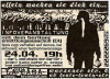 Flyer zum 24. April 2002