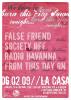 Flyer zum 6. Februar 2009